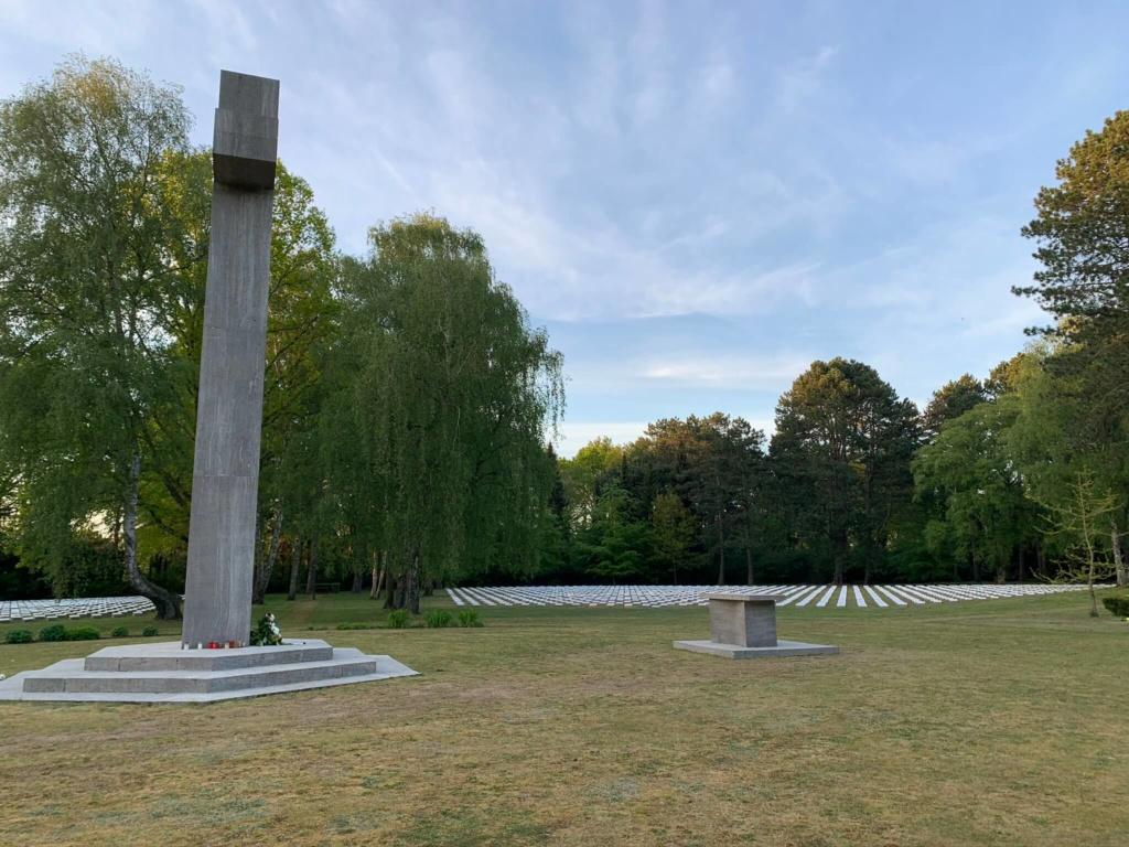 Italienische Kriegsgräberstätte, Friedhof Hamburg-Öjendorf