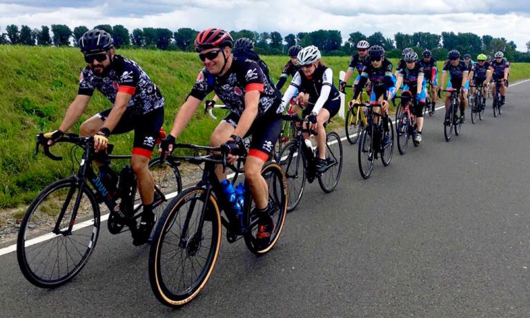 Charity-Ride für die Opfer der Flutkatastrophe in der Eifel